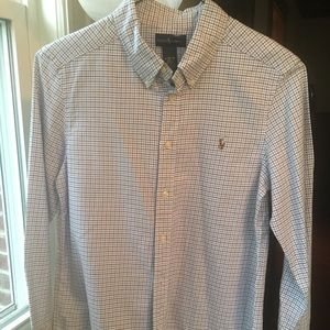 NWOT Ralph Lauren Boys Long Sleeve Shirt, Sz 14-6